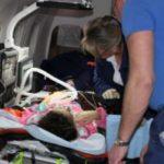 Трое детей доставлены самолетом МЧС России в Москву для дальнейшего лечения