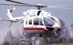 Вертолет эвакуировал упавшего с высоты человека в новой Москве