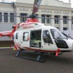Подмосковная санавиация начала использовать новый вертолет