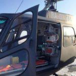 Пострадавшего в ДТП на севере Москвы ребенка эвакуируют в больницу на вертолете