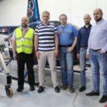 Визит делегации конструкторского бюро имени Миля в вертолетный центр Хелипорт Москва