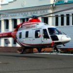 Вертолет эвакуировал упавшего с высоты мужчину из новой Москвы