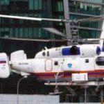 Санитарный вертолет эвакуировал пострадавшего в ДТП в новой Москве
