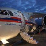 Спецборт МЧС России осуществляет санитарно-авиационную эвакуацию двух детей