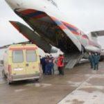 Спецборт МЧС России выполнил санитарно-авиационную эвакуацию детей из Ростова-на-Дону