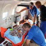 Спецборт МЧС России успешно осуществил санитарно-авиационную эвакуацию