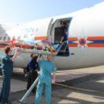 Спецборт МЧС России совершил санитарно-авиационную эвакуацию из Симферополя в Москву