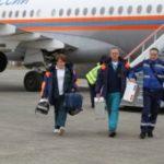 Спецборт МЧС России осуществил санитарно-авиационную эвакуацию тяжелобольных граждан из Владикавказа в Москву