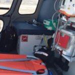Санитарный вертолет эвакуировал пострадавшего в ДТП в ТиНАО