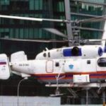 Санитарный вертолет эвакуировал в больницу пострадавшего при падении с пятого этажа в Измайлово
